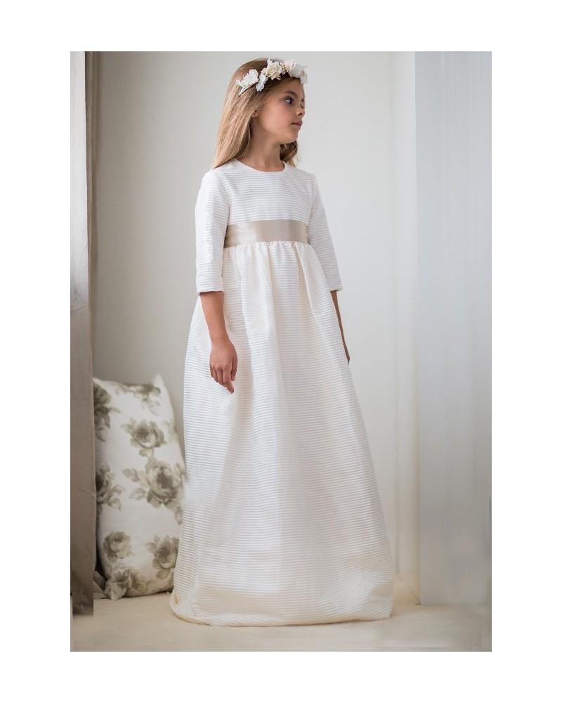 "15. Vestido de comunión ""Canutillo mini beige"""