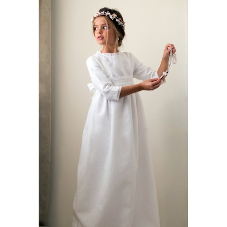 Vestido de comunion Candela (lazada encaje incluída)