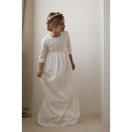 23. Vestido de comunion Lucia (sin lazada)