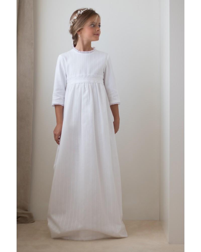 36. Vestido de comunion Romantico