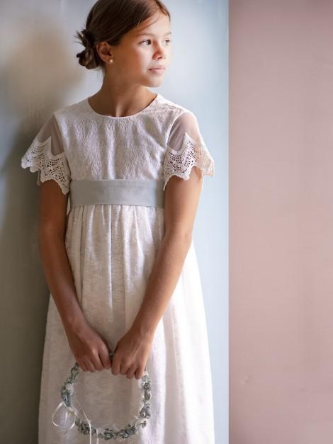 Vestido Colmena Rosa