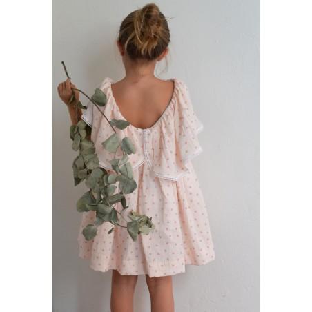 SS20. 18. Vestido capa flores rosa (NUEVO)