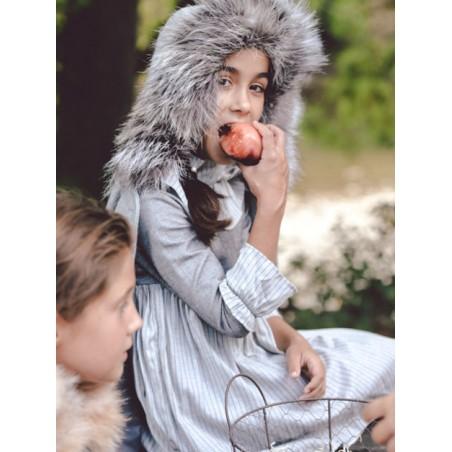 AW19. 44.Vestido niña raya diplomatica