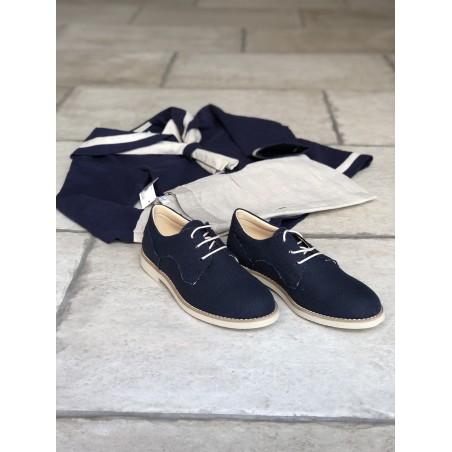 copy of Z.2.Zapato comunión niño blucher ante gris