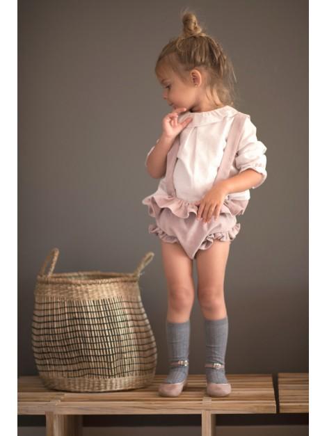 """Vestido de comunión """"Canutillo mini blanco"""""""