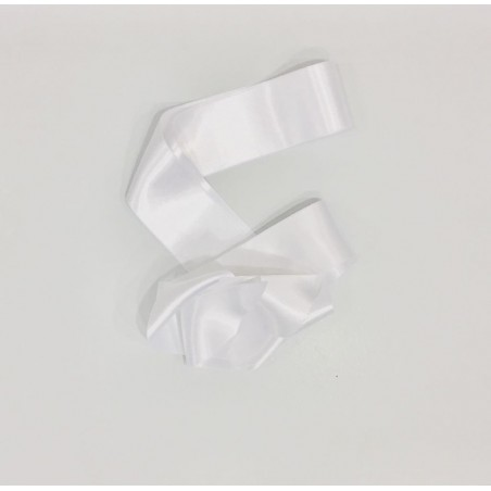 L.25. Lazada raso blanco